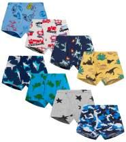 Finihen Little Boys Cotton Brief Soft Comfort Toddler Underwear Multipack