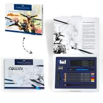 Faber-Castell Comic Illustration Set - The Famazings Superhero Comic Book Drawing Kit - Draw with Pitt Artist Pens & Goldfaber Coloring Pencils