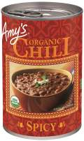 Amy's Organic Spicy Chili, USDA Organic, 14.7 Ounce, Pack of 12