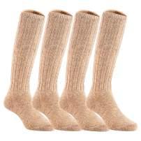 Lian LifeStyle Children 4 Pairs Knee High Wool Boot Socks MFS02 Sizes OY-6Y