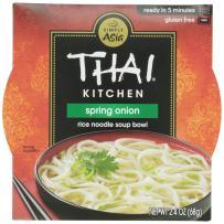 Thai Kitchen Noodle Bowl, Spring Onion, 2.4 oz