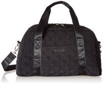 Vera Bradley Women's Microfiber Compact Sport Travel Bag