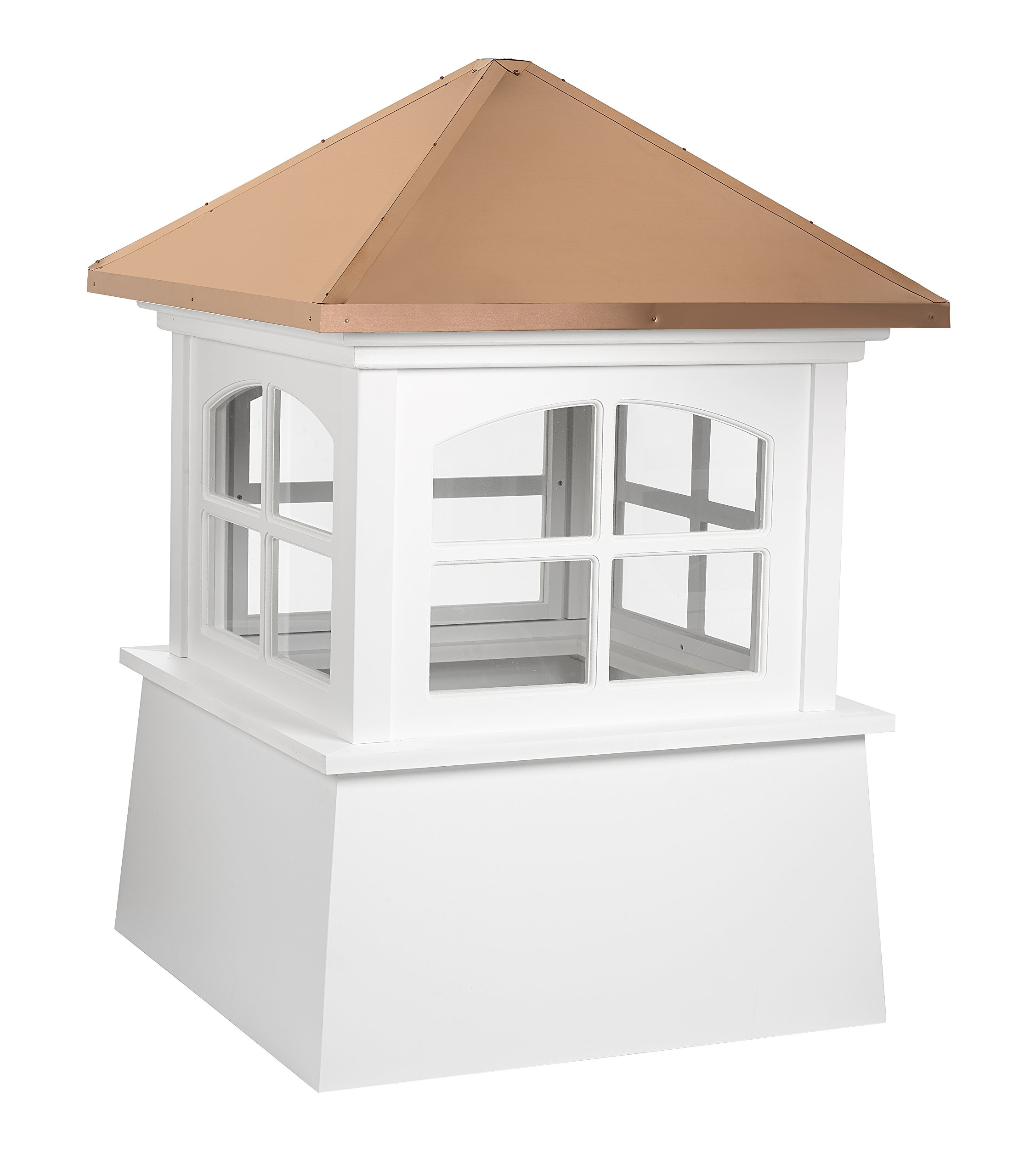 """Good Directions Huntington Vinyl Cupola with Copper Roof 60"""" x 85"""""""