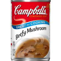Campbell'sCondensed Beefy Mushroom Soup, 10.5 Ounce each, Pack of 12
