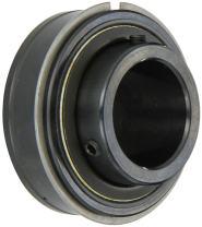 "Sealmaster ER-27 Cylindrical OD Bearing, Setscrew Locking Collar, Light Contact Felt Seals, 1-11/16"" Bore, 85 mm OD, 1-15/16"" Width"