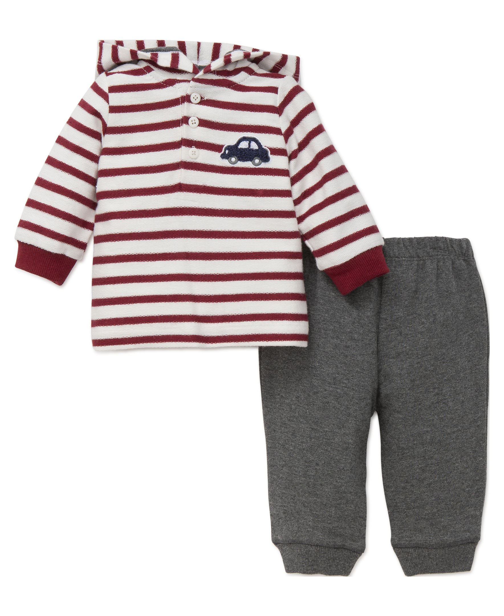 Little Me Boys' 2-Piece Hoodie Set