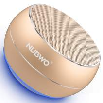 NUBWO Portable Bluetooth Speaker with Enhanced Bass and Stereo Sound, 8H Playtime, Bulti in Mic, Mini Wireless Speaker Portable for Phone, iPad, Mac, Tablet, Echo