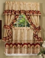 Achim Home Furnishings Sunflower Cottage Set, 24-inch, Antique