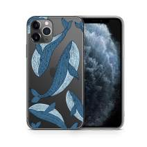 iPhone 11 Pro Case by Case Yard Fit for iPhone 11 Pro 5.8-Inch [ 2019 Release ] Shock-Absorption iPhone 11 Pro Case Clear iPhone 11 Pro Clear iPhone 11 Pro Case Cute Blue Whales