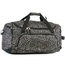 Pacific Coast Signature Medium Travel Duffel Bag, Leopard Dense