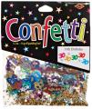 Beistle CN028 30 & Stars Confetti Birthday Party Supplies, Tableware Decorations, 0.5 Ounces, Multicolored