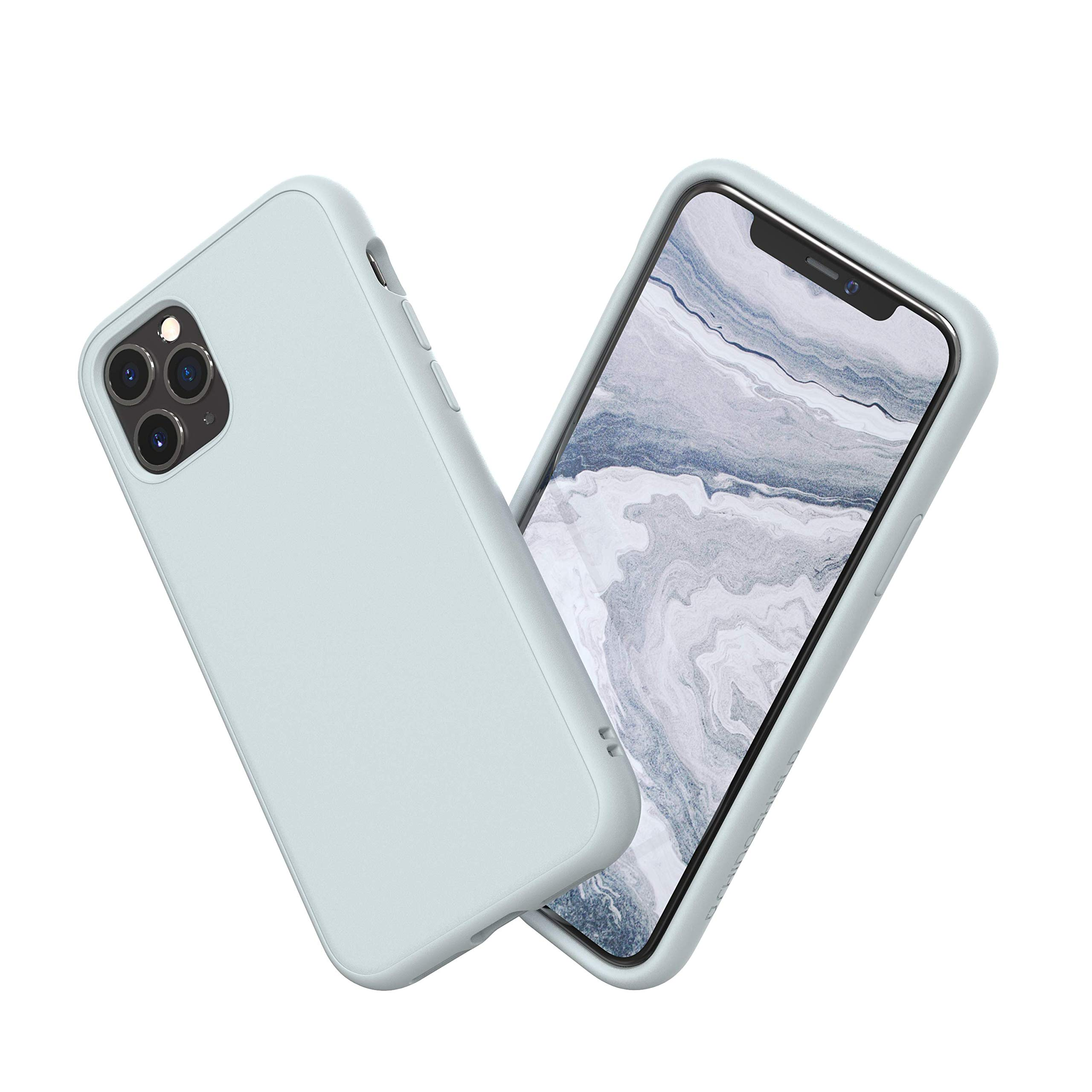 Rhinoshield Case For Iphone 11 Pro Solidsuit Shock Absorbent Slim Design Protective Cover With Premium Matte Finish 3 5m 11ft Drop Protection Classic Cloud Gray