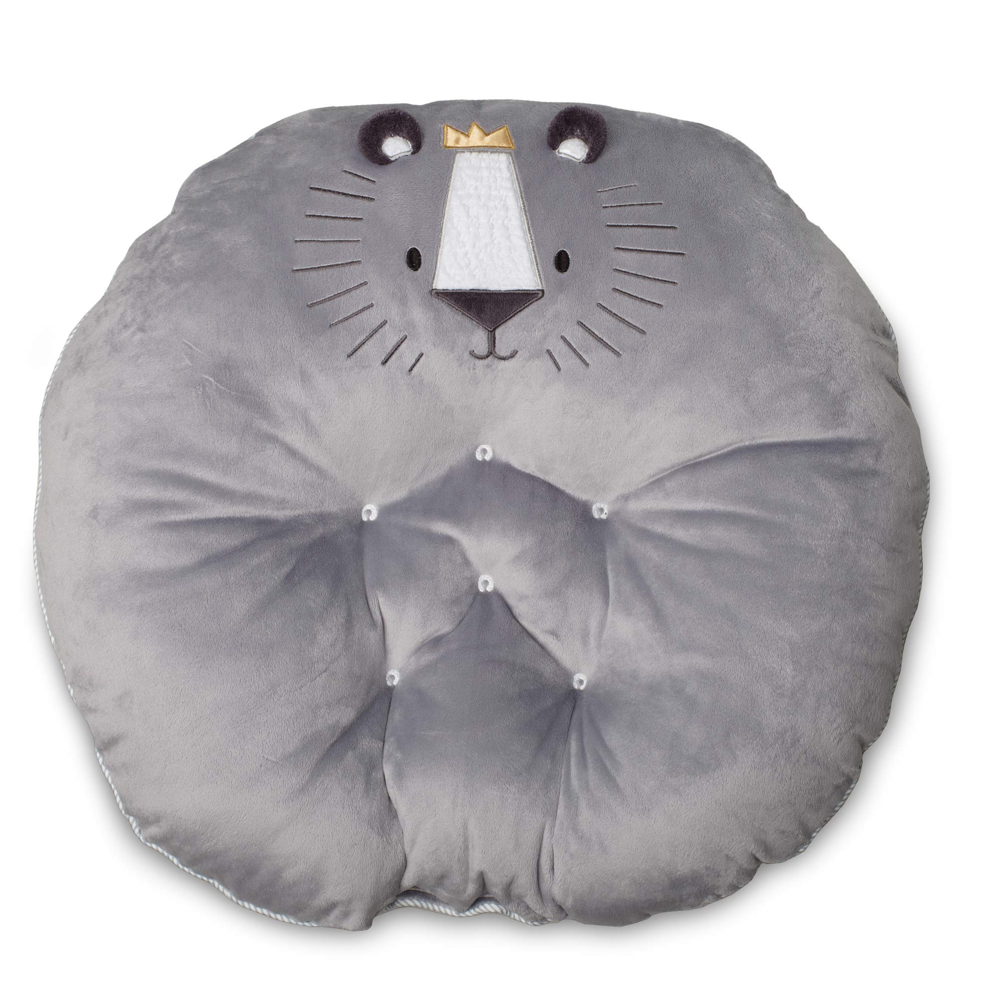 Boppy Preferred Newborn Lounger, Gray Royal Lion