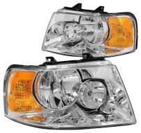 DNA MOTORING HL-OH-FEXPE03-CH-AM Headlight Assembly, Driver and Passenger Side