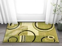 "Doormat Ruby Kitchen Bathroom Soft Durable Accent Rug Small Carpet Scatter Entry Mat Easy to Clean Modern Woven Hearth 20"" X 31"" Green Mat"