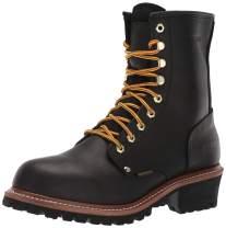 Ad Tec Super Logger Boots (Black Waterproof, Numeric_8)