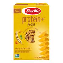 BARILLA Protein+ (Plus) Rotini Pasta   Protein from Lentils, Chickpeas & Peas   Good Source of Plant-Based Protein   Protein Pasta   Non-GMO   Kosher Certified   14.5 Ounce Box (7 Servings per Box)