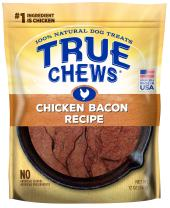 True Chews Premium Chicken Bacon Recipe Natural Dog Treats