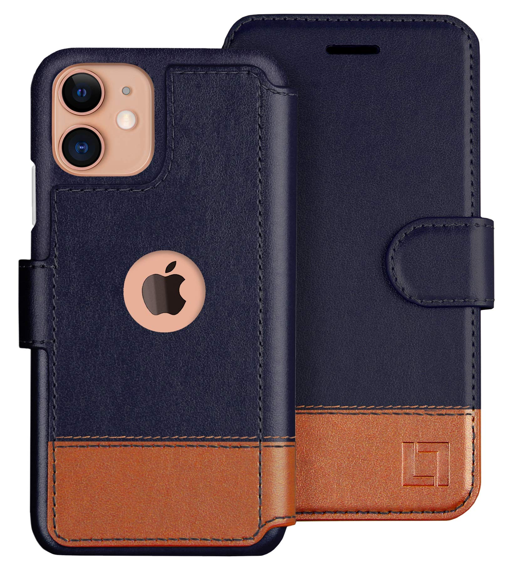 LUPA iPhone 11 Wallet Case -Slim iPhone 11 Flip Case with Credit Card Holder, for Women & Men, Faux Leather i Phone 11 Purse Cases with Magnetic Closure, Desert Sky