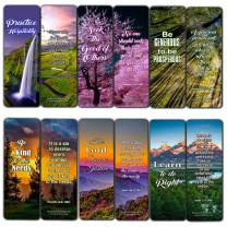 Kindness Scriptures Cards Bookmarks (60 Pack) - Perfect Giftaway for Sunday School