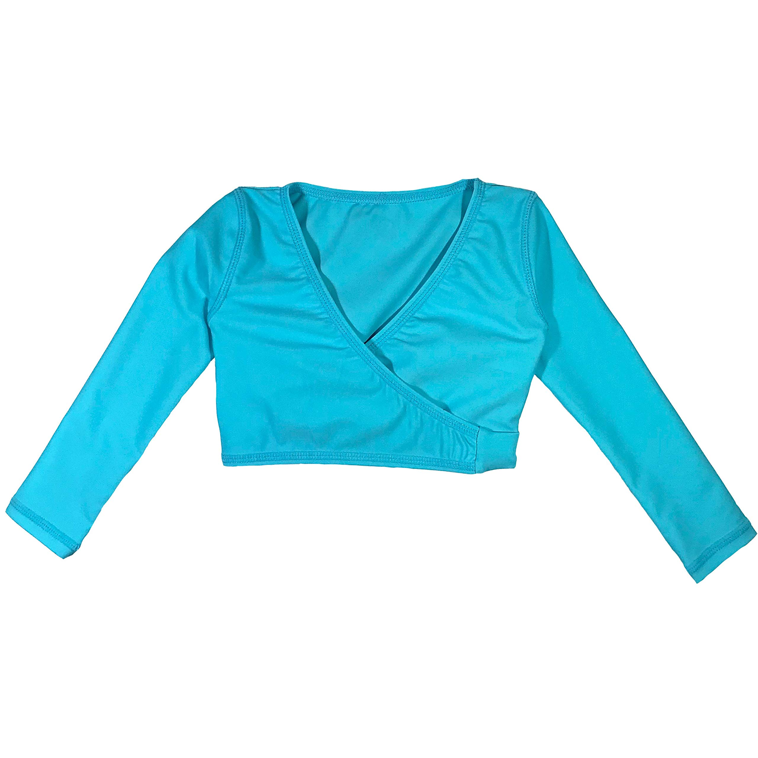 SwimZip Girls UPF Wrap Top (1 Piece) (Multiple Colors)