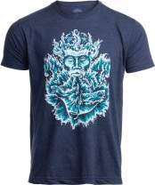 Poseidon | Greek God of Sea Ocean Spiritual Mythology Art Illustration for Men Women T-Shirt