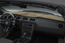 Coverking Custom Fit Dashcovers for Select Chevrolet S10 Models - Suede (Beige)