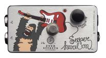 ZVEX Effects Super Hard On Vexter Series Ultra High-Impedance Preamp Boost Guitar Pedal