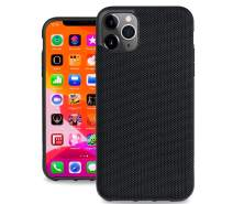 Evutec Ballistic Nylon iPhone 11 Pro 5.8 Inch, Unique Heavy Duty Case Premium Protective Military Grade Drop Tested Shockproof Phone Cover(AFIX+ Magnetic Mount Included) (Black)