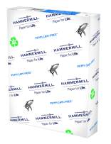 Hammermill Great White 100% Recycled 20lb Copy Paper, 8.5 x 11, 1 Ream, 500 Sheets, Made in USA, Sustainably Sourced From American Family Tree Farms, 92 Bright, Acid Free, Multipurpose Paper, 086790R