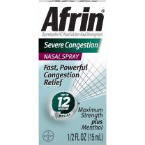 Afrin Severe Congestion Nasal Spray 15 mL (Pack of 8)
