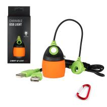 PierShine CPL01 Long Cable USB Light Bulb Outdoor Chainable Waterproof Portable with USB Port for Camping Light, Reading Light, Bed Light, Workshop Light, Dormitory Light, 5 Colors Option