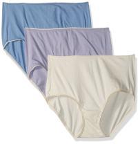 Hanes Women's EcoSmart Brief Panty 3-Pack