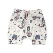 Finn + Emma Organic Cotton Pull-Up Baby Shorts – Mermaids, 6-9 Months