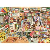 Jigsaw Puzzles 1000 Pieces for Adults- Puzzle 1000 Pieces Puzzle for Adults 1000 Piece Puzzles Jigsaw Puzzles for Adults Vintage Toy Shop