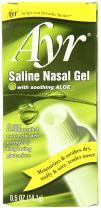Ayr Saline Nasal Gel with Soothing Aloe, 4 Count