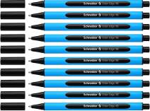 Schneider Slider Edge XB Ballpoint Pen, Black, Box of 10 Pens (152201)