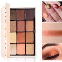 SACE LADY Eyeshadow Palette Riched Color Payoff, Mix of Matte and Shimmer,Smooth Blending Long Lasting Mirrored Compact Eye Shadow Pressed Powder (#01.Twilight Palette)