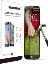 ShockWize [1 Pack] [Tempered Glass] .3mm Thin Ballistic Premium Real Glass Screen for LG G Stylo/Stylus / LS770, Clear