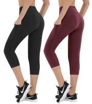 HOFI High Waist Yoga Pants for Women Side & Inner Pockets with Tummy Control