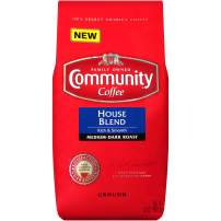 Community Coffee Medium Dark Roast Premium Ground Bag, House Blend Rich Smooth, 32 Ounce