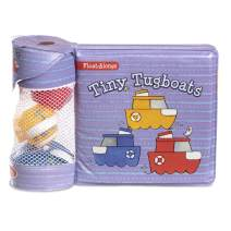 Melissa & Doug Children's Book - Float-Alongs: Tiny Tugboats (Bath Book + 3 Floating Tugboat Toys, Great Gift for Girls and Boys - Best for Babies and Toddlers, 4, 5, 9 Month Olds, 1 and 2 Year Olds)