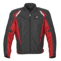 Fieldsheer Men's Matrix Jacket (Black/Red, Large)