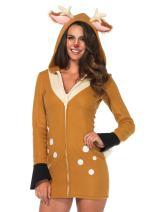 Leg Avenue Women's Hooded Cozy Fawn Halloween Costume