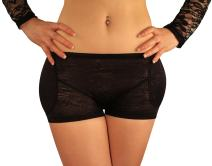 Sodacoda Women's Lowrise Lace Foam Padded Hip and Butt Enhancer