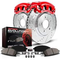 Power Stop KC2313A Z23 Evolution Sport Brake Kit with Calipers