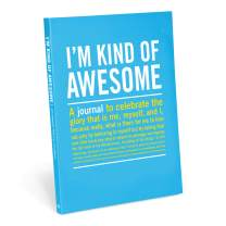 Knock Knock I'm Kind of Awesome Inner-Truth Journal (Large, 7 x 9.5-inches)