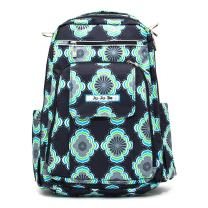 JuJuBe Boys' Be Right Back Backpack Diaper Bag, Moon Beam, One Size