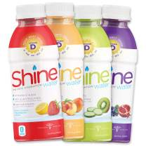 "ShineWater ""The New Hydration"" Vitamin D + Electrolyte + Antioxidant Water, Zero Sugar, Naturally Flavored, Made in The USA! 16.9oz. BPA Free Bottle (12 Pack) (VARIETY PACK)"