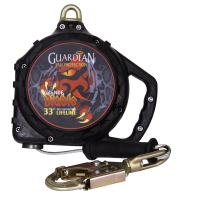Guardian Fall Protection 42011 Diablo Grande Nylon-Coated Cable SRL, 33'